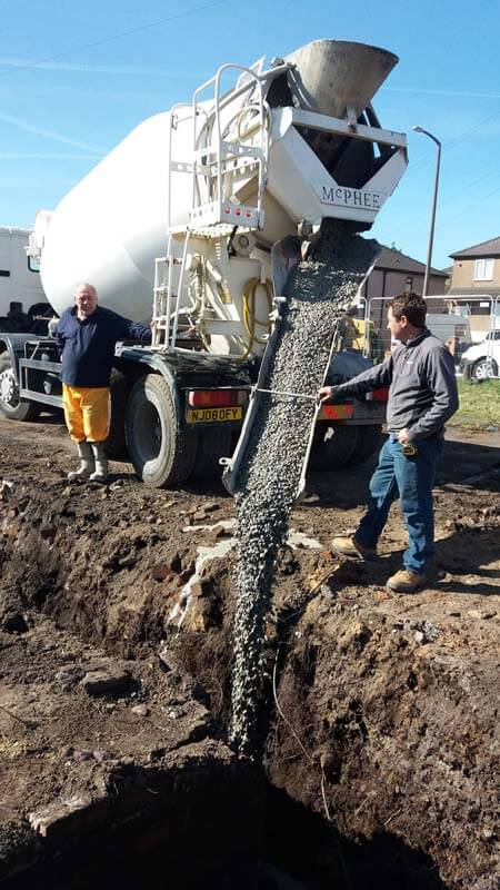 Concrete suppliers in Doncaster