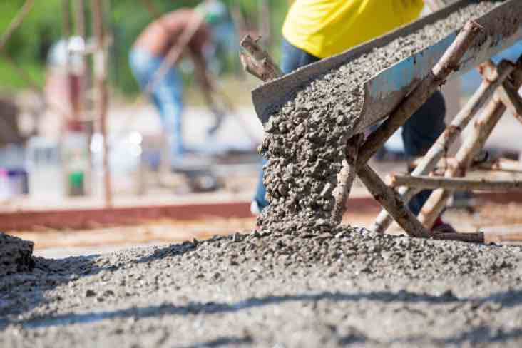 How to pour concrete in cold weather